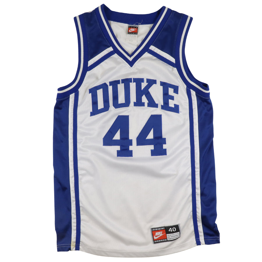 1995 Nike Authentic Duke Blue Devils Cherokee Parks Jersey 40