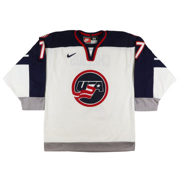 1998 Nike Team USA Hockey Olympics Chris Chelios Jersey 44