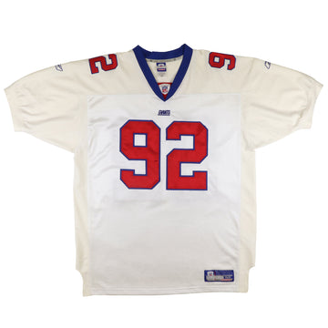 2002 Reebok Authentic New York Giants Michael Strahan Jersey 52