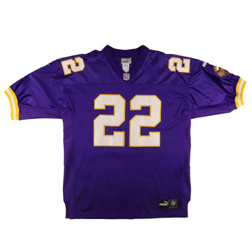 2000 Puma Authentic Minnesota Vikings David Palmer Jersey 52