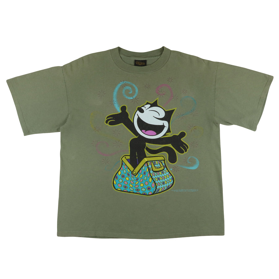 1990s Felix The Cat Cartoon T-Shirt L