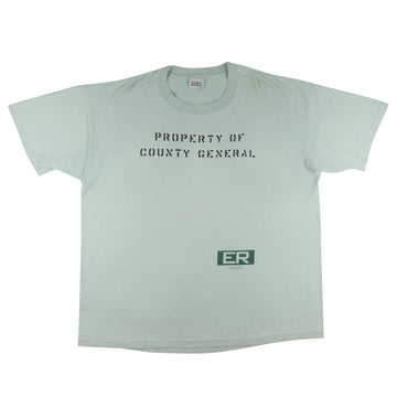 1995 ER 'Property Of County General' Scrubs T-Shirt XL
