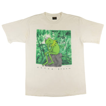 1990s The Muppets Kermit The Frog 'Think Green' T-Shirt XL