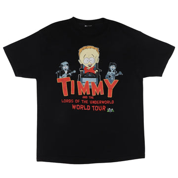 2000 South Park Timmy And The Lords Of The Underworld T-Shirt L