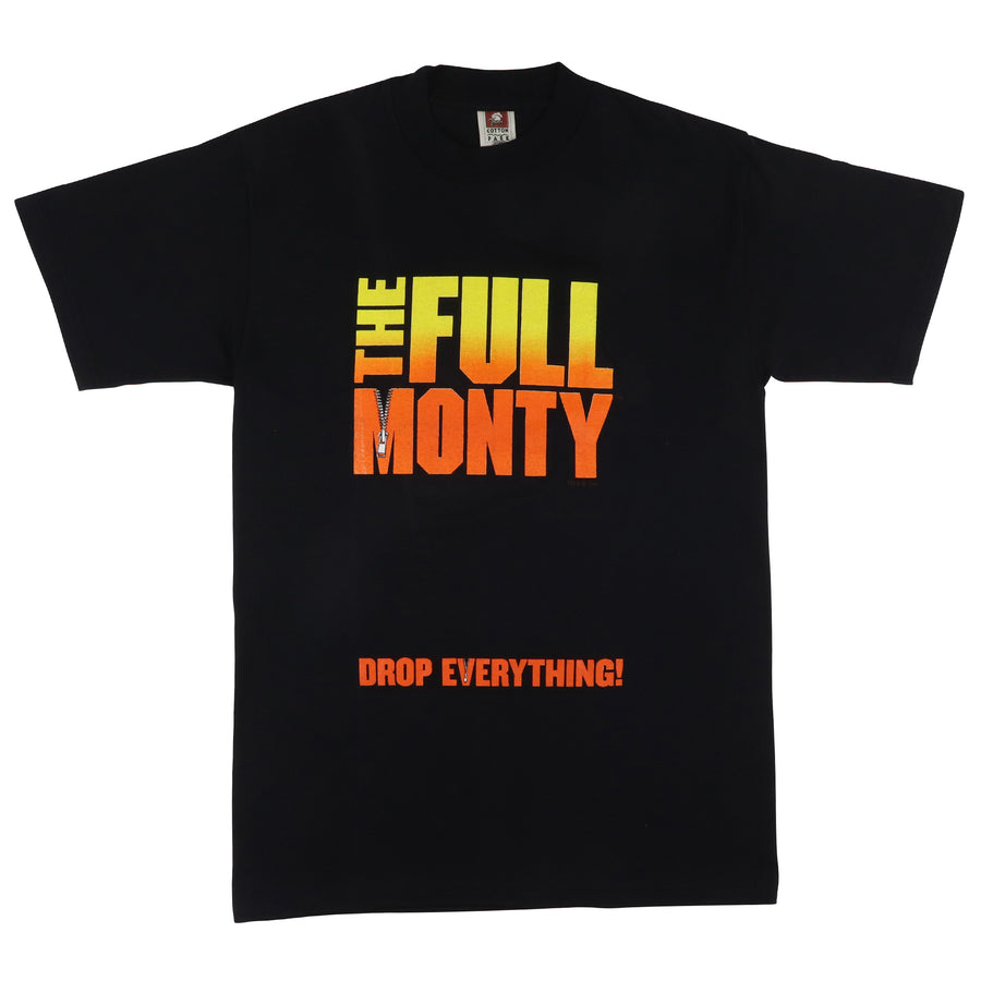 1997 The Full Monty 'Drop Everything' Movie Promo T-Shirt M