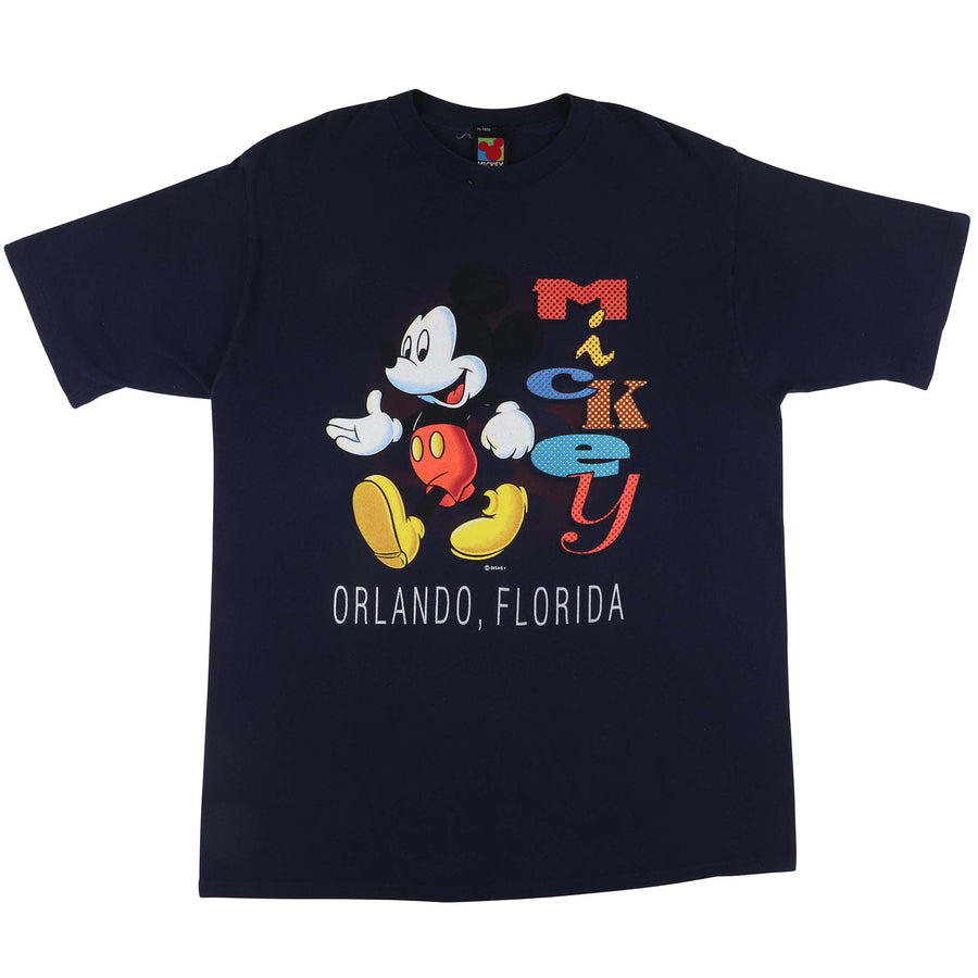 1990s Disney Mickey Mouse Orlando Florida T-Shirt  L