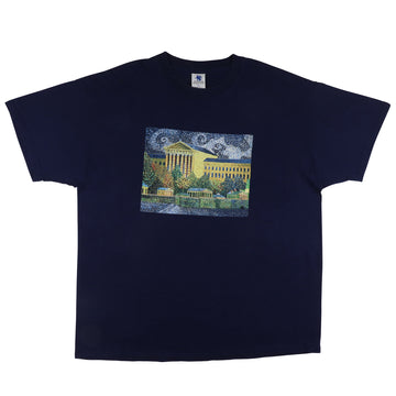 2000s Vincent Van Gogh Philadelphia Museum Of Art T-Shirt XL