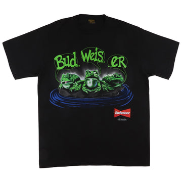1995 Budweiser Frogs 'Bud Weis Er' My Pad Or Yours T-Shirt XL