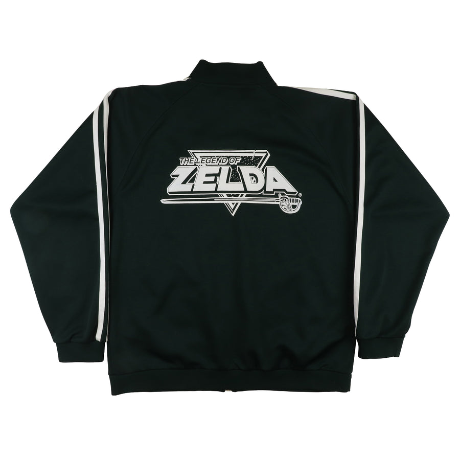 2003 Nintendo Legend Of Zelda Full Zip Track Jacket L