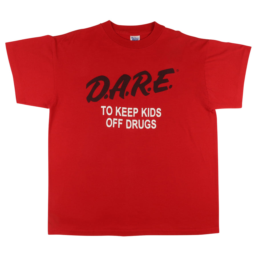1990s DARE To Keep Kids Off Drugs 'Anti Drugs' T-Shirt L