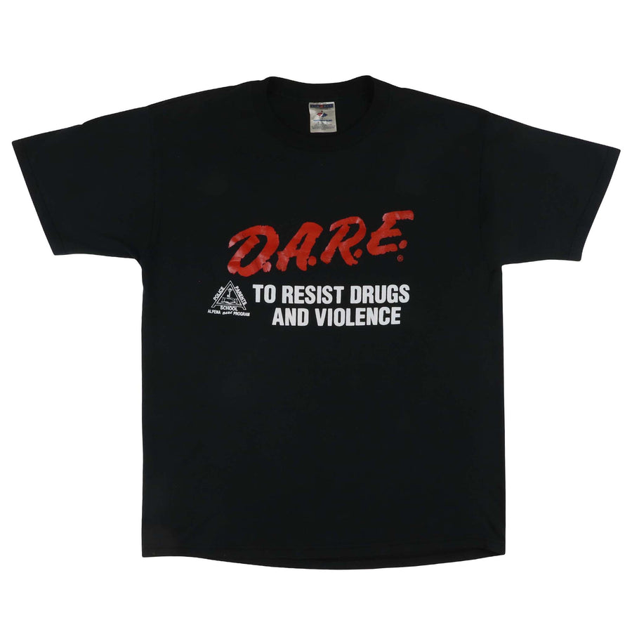 2000s DARE To Resist Drugs And Violence Alpena Program T-Shirt L