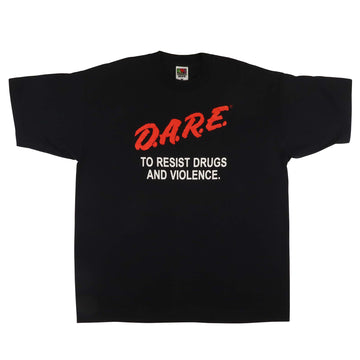 1990s DARE To Resist Drugs And Violence 'Anti Drugs' T-Shirt XL
