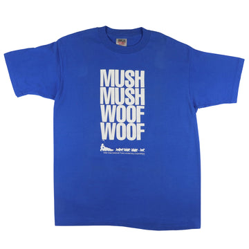 1990 International Trans Antarctica Expedition Mush Mush Woof Woof T-Shirt XL