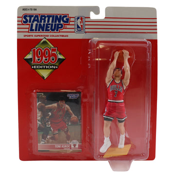 1995 Starting Lineup Chicago Bulls Toni Kukoc Figure