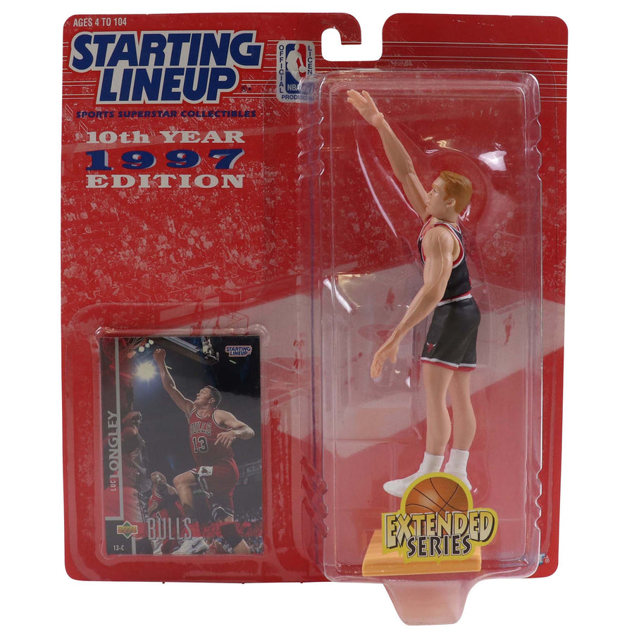 1997 Starting Lineup Chicago Bulls Luc Longley Figure