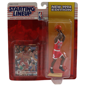 1994 Starting Lineup Chicago Bulls B.J. Armstrong Figure