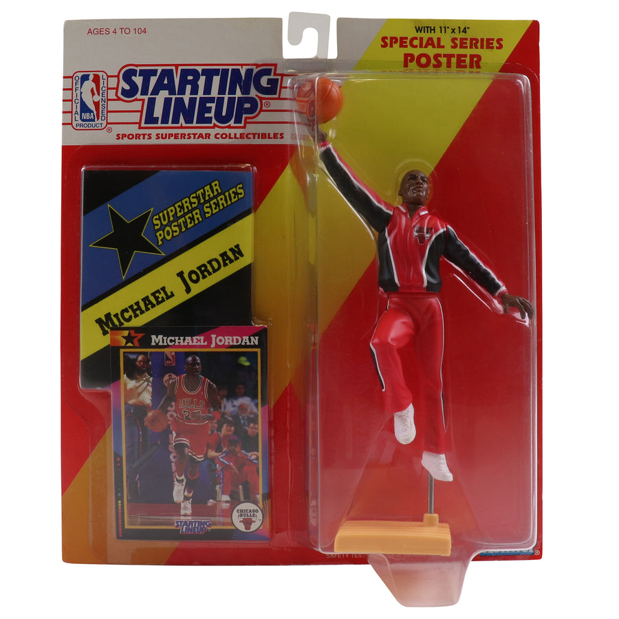 1992 Starting Lineup With Special Series Poster Chicago Bulls Michael Jordan