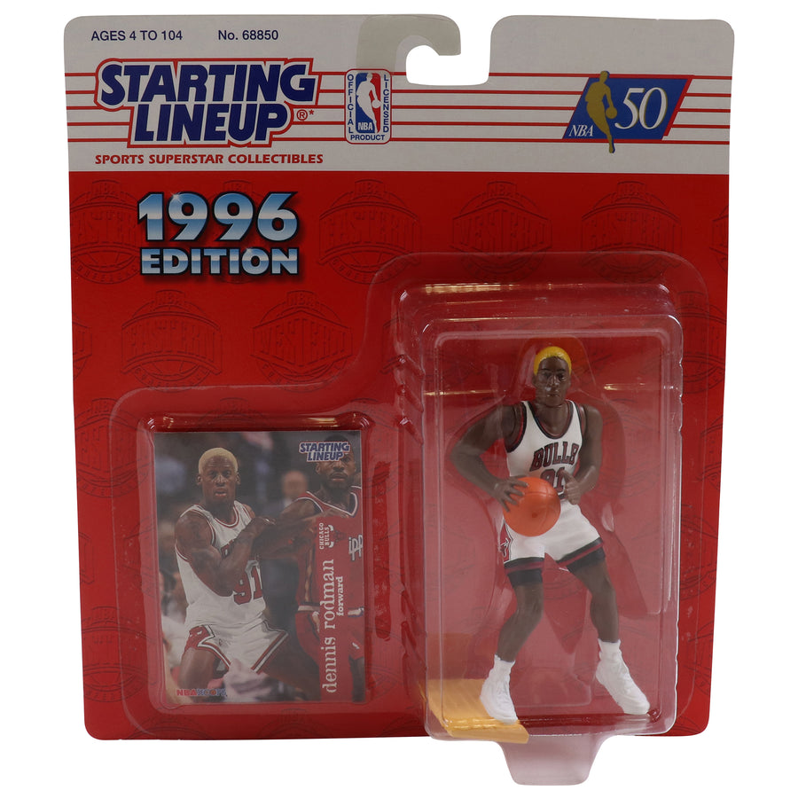 1996 Starting Lineup Chicago Bulls Dennis Rodman