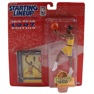 1997 Starting Lineup Los Angeles Lakers Eddie Jones Figure