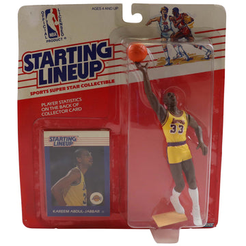 1988 Starting Lineup Los Angeles Lakers Kareem Abdul-Jabbar Figure
