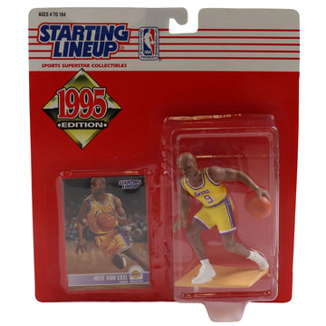 1995 Starting Lineup Los Angeles Lakers Nick Van Exel Figure