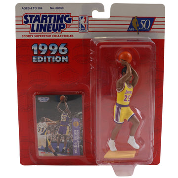 1996 Starting Lineup Los Angeles Lakers Eddie Jones Figure