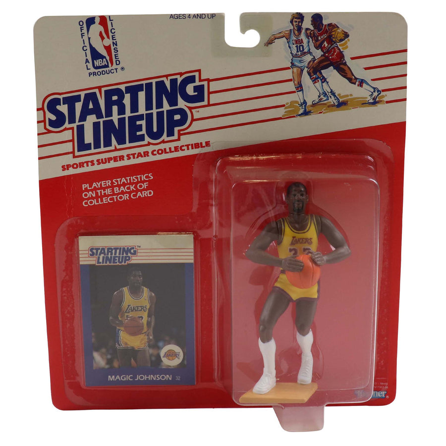 1988 Starting Lineup Los Angeles Lakers Magic Johnson Figure