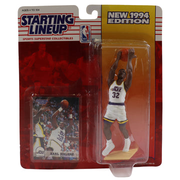 1994 Starting Lineup Utah Jazz Karl Malone Figure