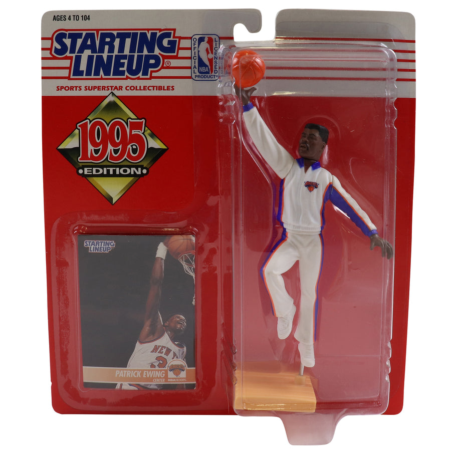 1995 Starting Lineup New York Knicks Patrick Ewing