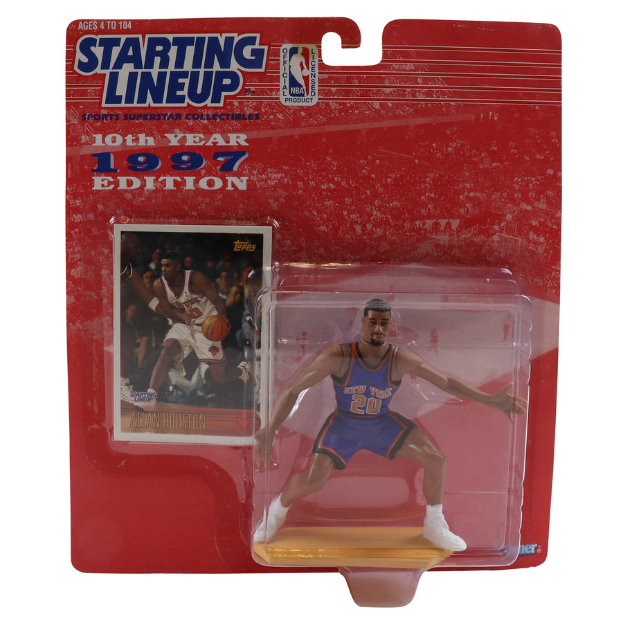 1997 Starting Lineup New York Knicks Allan Houston Figure