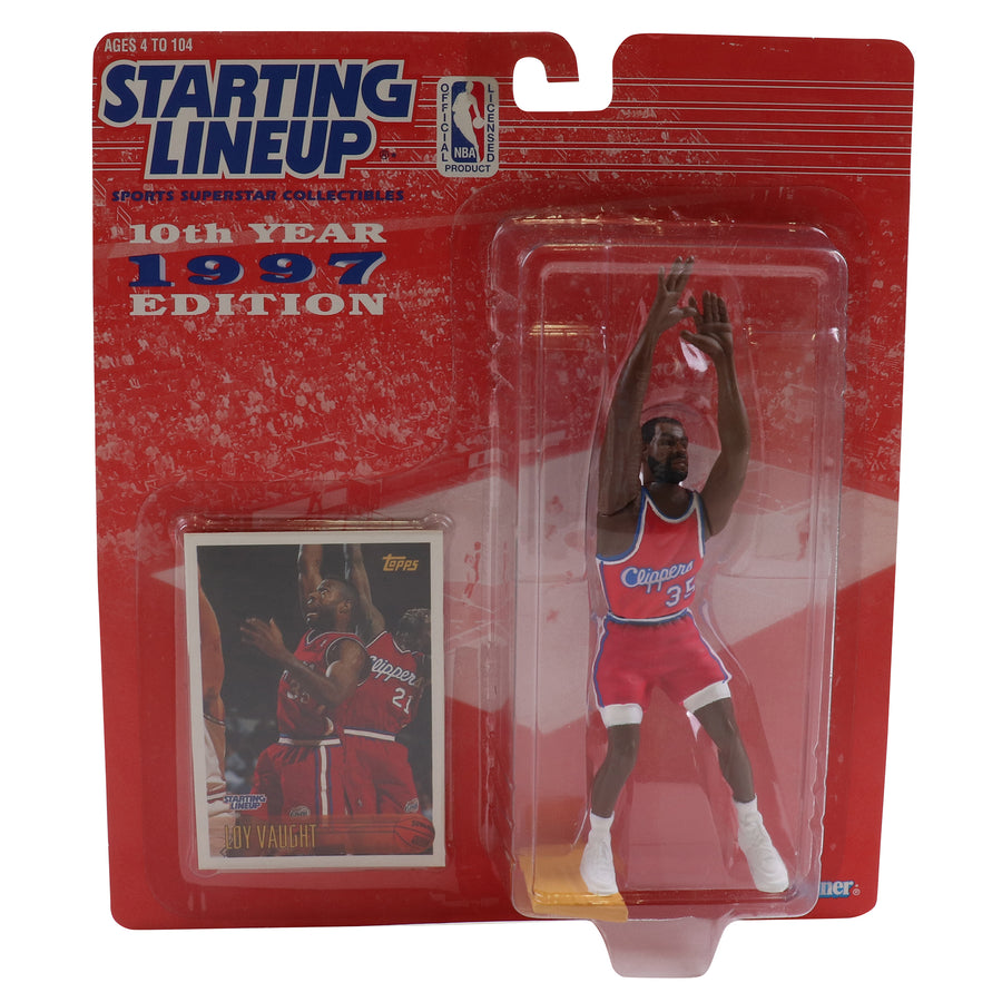 1997 Starting Lineup Los Angeles Clippers Loy Vaught Figure