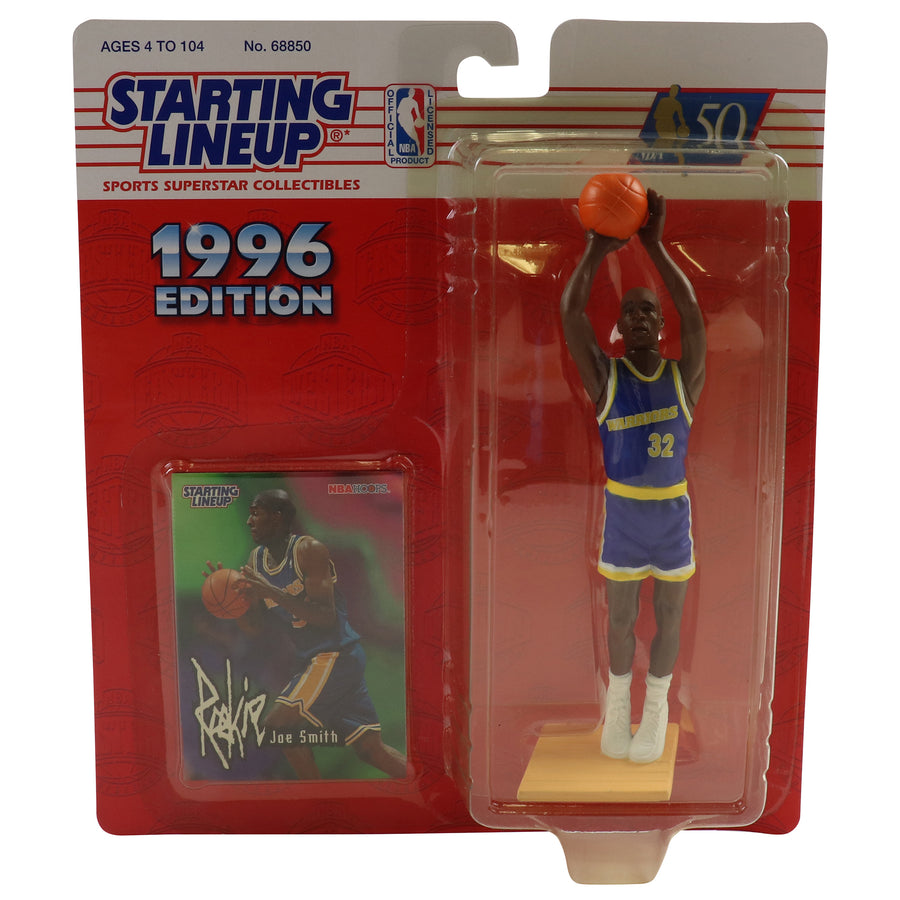 1996 Starting Lineup Golden State Warriors Joe Smith Figure