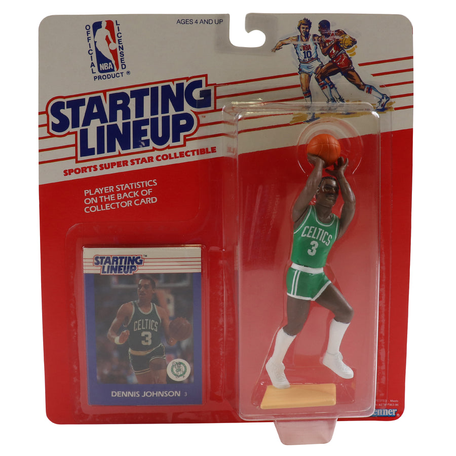 1988 Starting Lineup Boston Celtics Dennis Johnson Figure