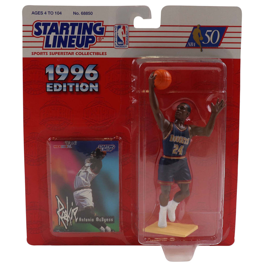 1996 Starting Lineup Denver Nuggets Antonio McDyess Figure