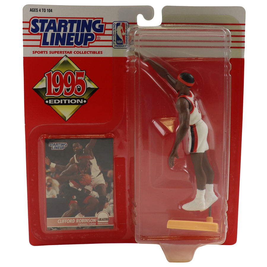 1995 Starting Lineup Portland Trail Blazers Clifford Robinson Figure