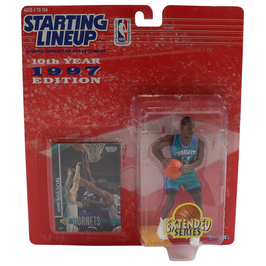 1997 Starting Lineup Charlotte Hornets Anthony Mason Figure