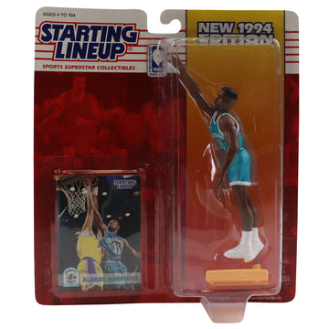 1994 Starting Lineup Charlotte Hornets Alonzo Mourning Figure
