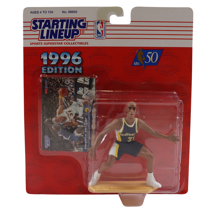 1996 Starting Lineup Indiana Pacers Reggie Miller Figure