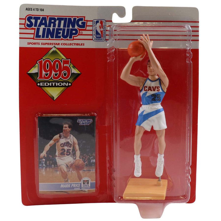 1995 Starting Lineup Cleveland Cavaliers Mark Price Figure
