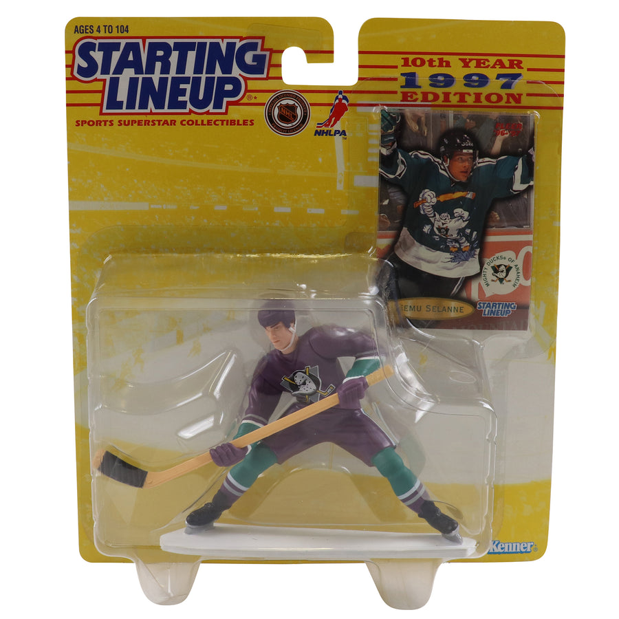 1997 Starting Lineup Anaheim Mighty Ducks Teemu Selanne Figure