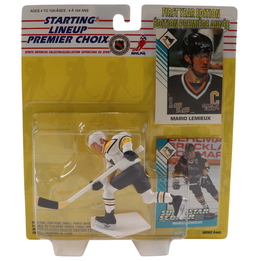 1993 Starting Lineup First Year Edition Pittsburgh Penguins Mario Lemieux Figure