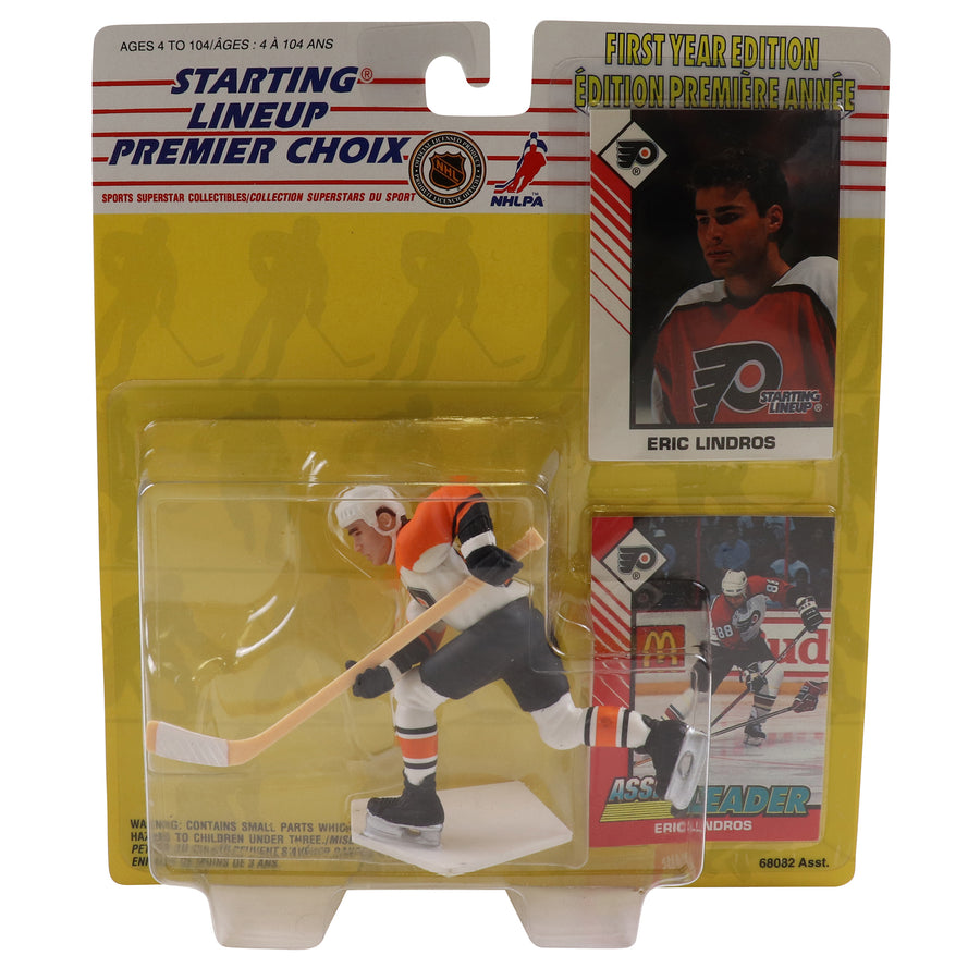 1993 Starting Lineup First Year Edition Philadelphia Flyers Eric Lindros Figure