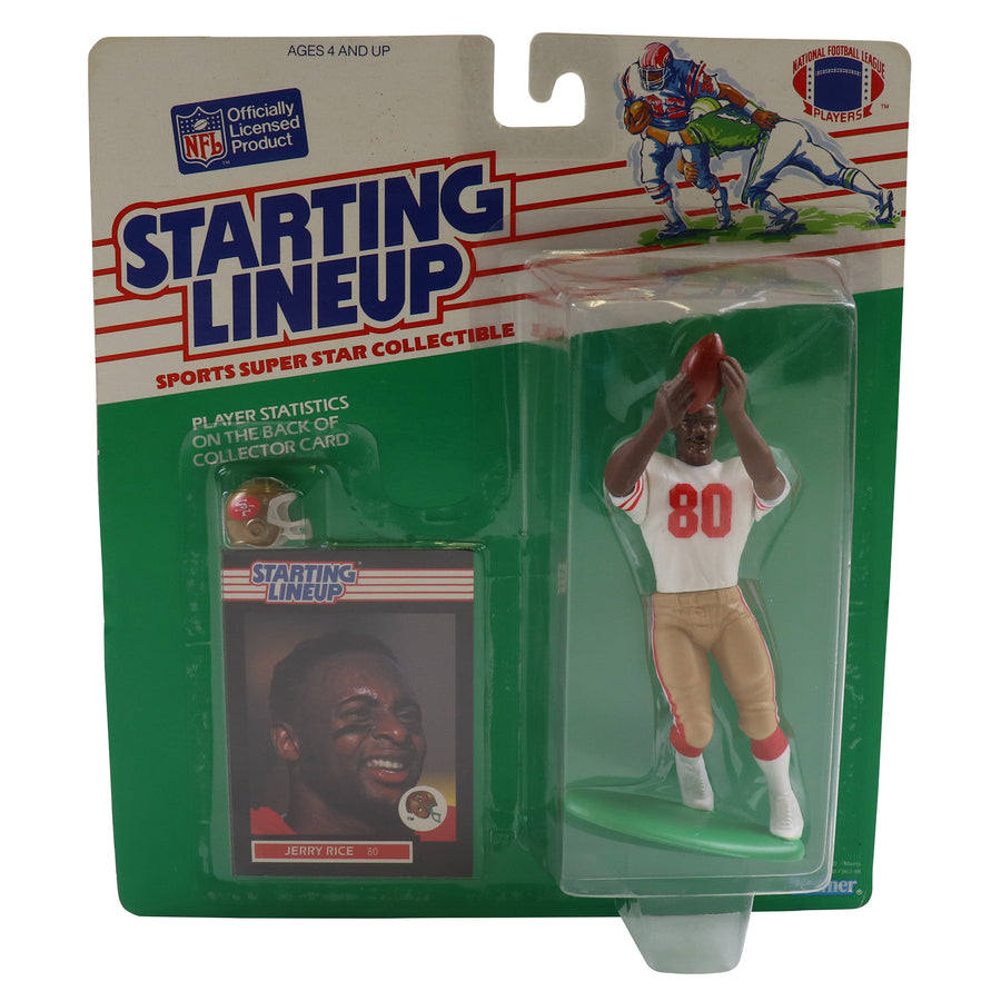 1989 Starting Lineup San Francisco 49ers Jerry Rice Figure