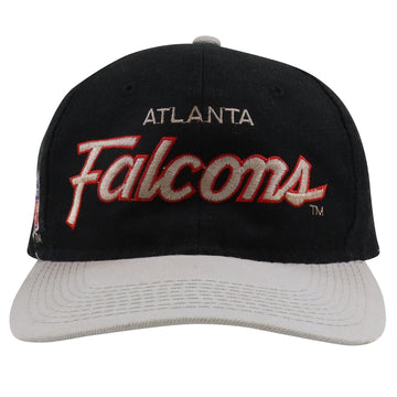 1990s Sports Specialties Atlanta Falcons Script Snapback Hat