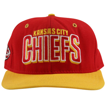 1990s AJD Kansas City Chiefs Snapback Hat