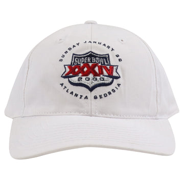 2000 Logo Athletic Super Bowl XXXIV Atlanta Snapback Hat