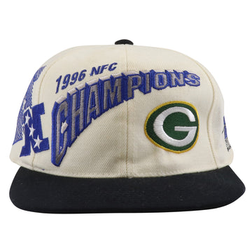 1996 Sports Specialties Green Bay Packers NFC Champions Snapback Hat