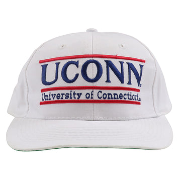 1990s The Game UConn Huskies Split Bar Snapback Hat