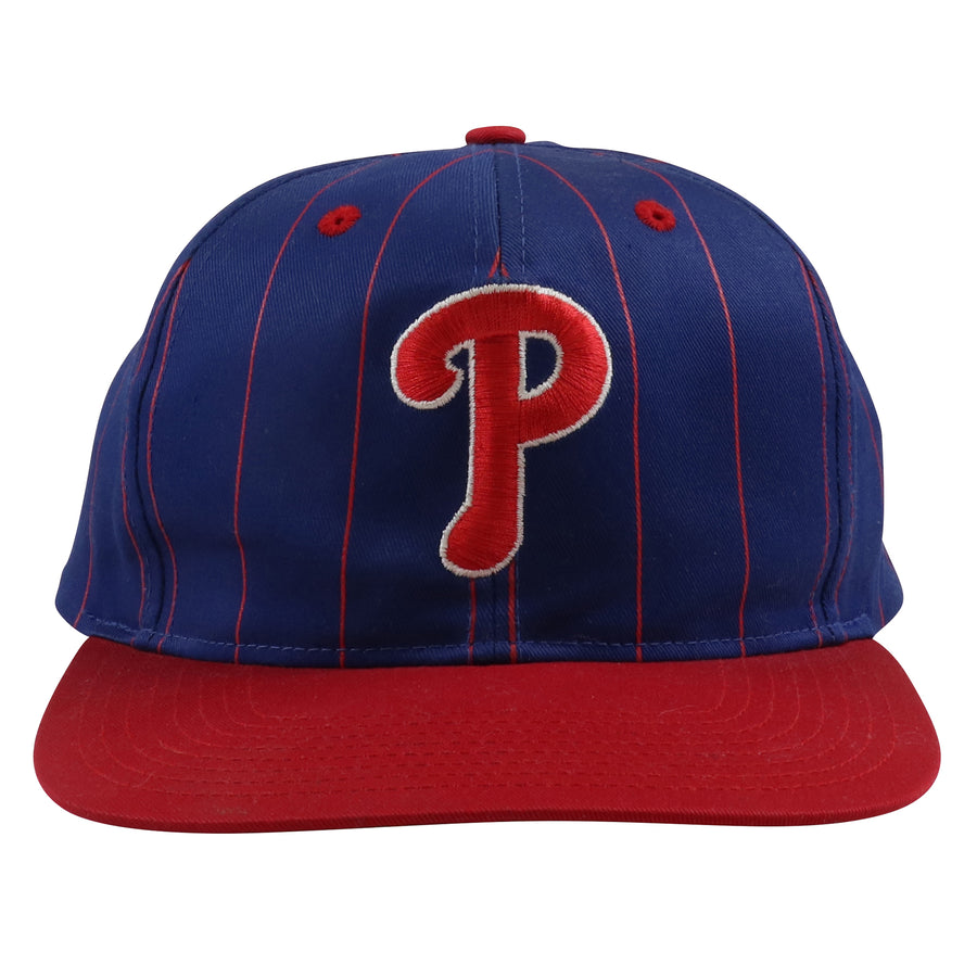 1990s Twins Philadelphia Phillies Pinstripe Snapback Hat