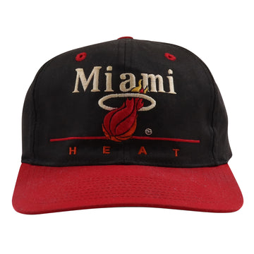 1990s Twins Miami Heat Snapback Hat